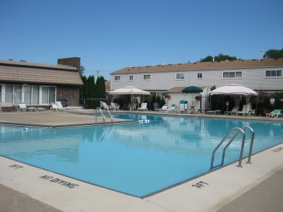 Bretton village co op amenities junior olympic size for Heated pools for sale